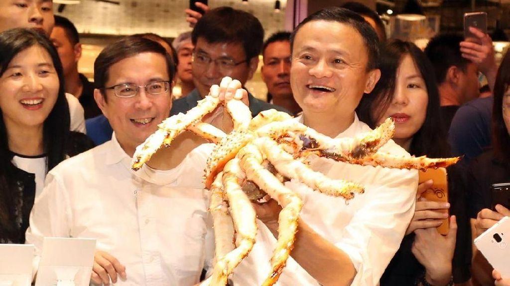 Ini Sosok Sederhana Miliarder Jack Ma, Suka Makan Mie Instan hingga Seafood