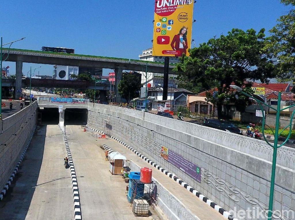 Underpass Mampang akan Dibuka Pekan Ini