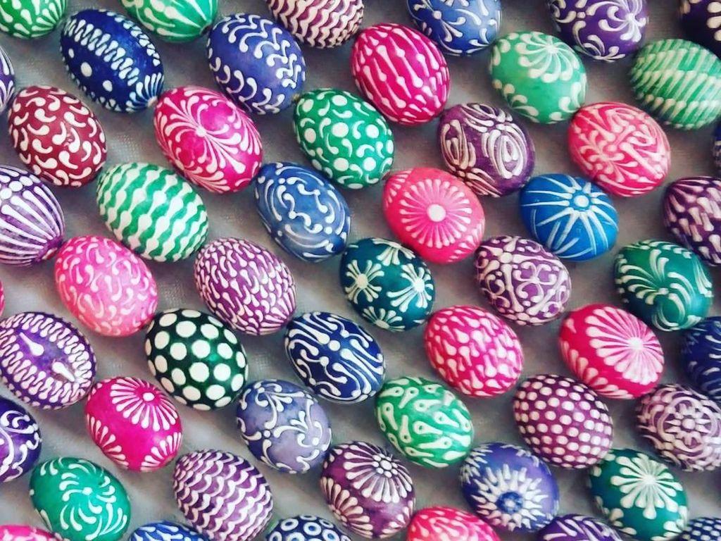 Foto: Pysanka, Telur Paskah Paling Unik dari Ukraina