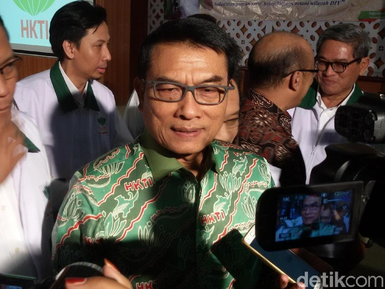 Prabowo Siap Nyapres, Moeldoko: Jokowi Punya Sparring Partner
