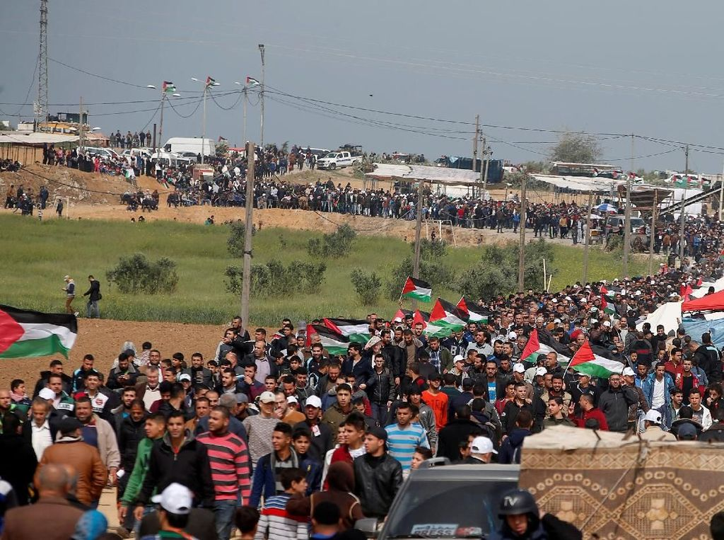 Jurnalis Palestina yang Ditembak Tentara Israel Meninggal