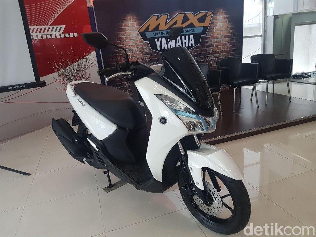 Lexi Jadi Anak Bontot Skutik Maxi Yamaha