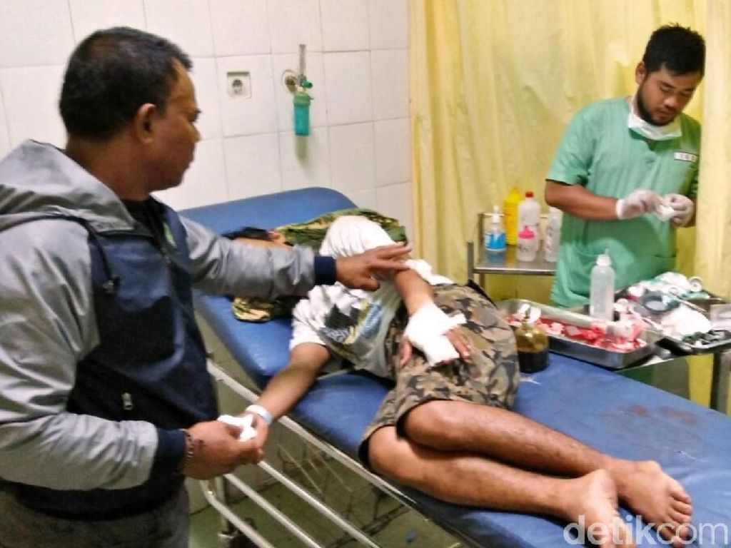 Empat Warga Sukabumi Masuk RS Usai Diserang Pemuda Diduga Mabuk