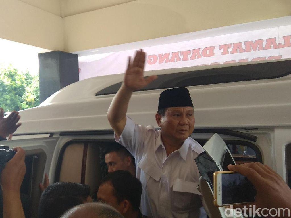 Gerindra Yakin Habib Rizieq Rekomendasikan Prabowo di Pilpres 2019