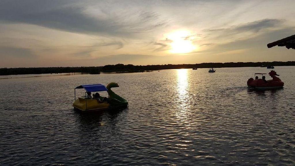 Foto: Long Weekend di Palangkaraya, Sunsetnya Juara!