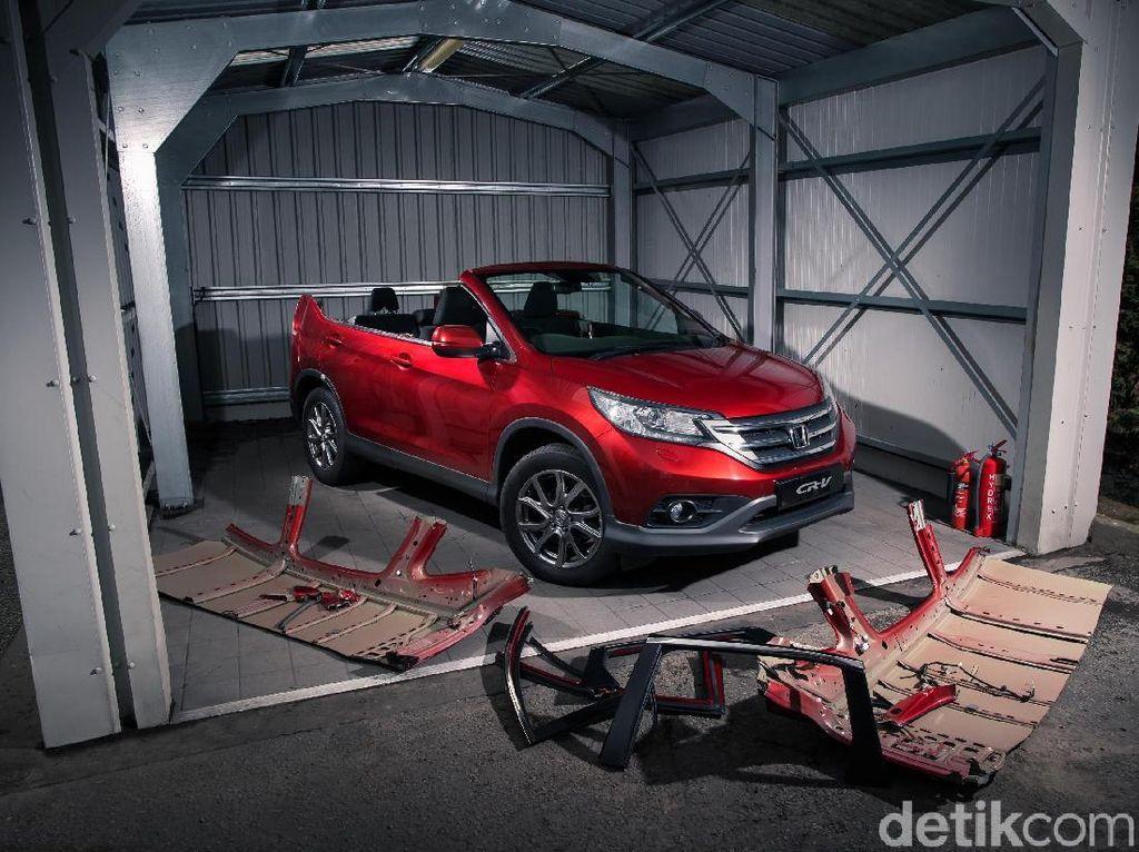 Atap Honda CR-V Dipotong, Harganya Jadi Separuh