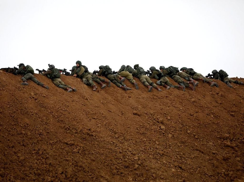 Israel Sebar Selebaran Ingatkan Warga Gaza Tak Dekati Perbatasan