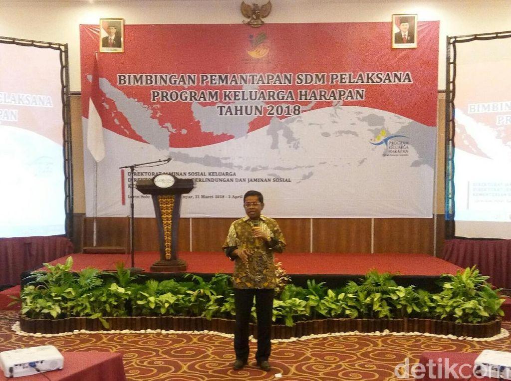 Motivasi Pendamping PKH, Mensos Singgung Indonesia Bubar 2030