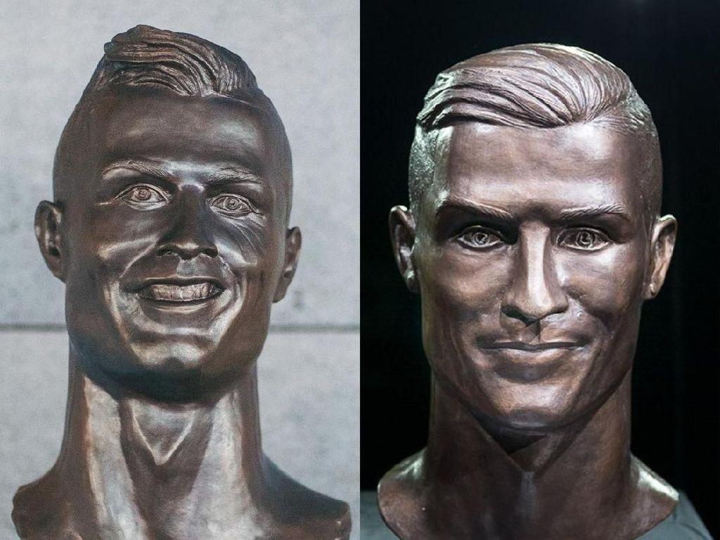 Dulu Diolok-olok, Kini Patung Ronaldo Dibuat Lagi