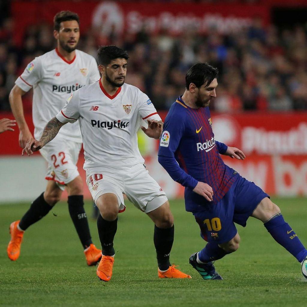 Sevilla Tak Mau Terkecoh Tren Negatif Barcelona