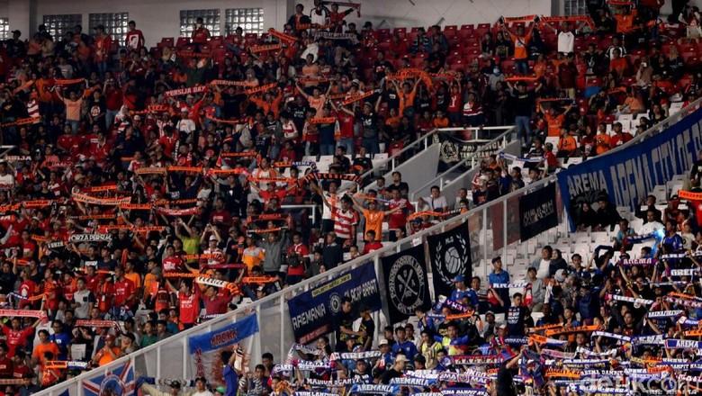 Jumlah Penonton Persija vs Arema FC Jadi Rekor Baru di Liga 1