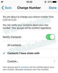 Begini Cara Gunakan Notifikasi Ganti Nomor WhatsApp