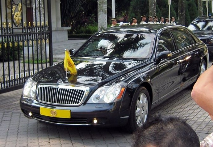 20 Mobil Dinas Termahal di Dunia Para Pemimpin Negara (I)