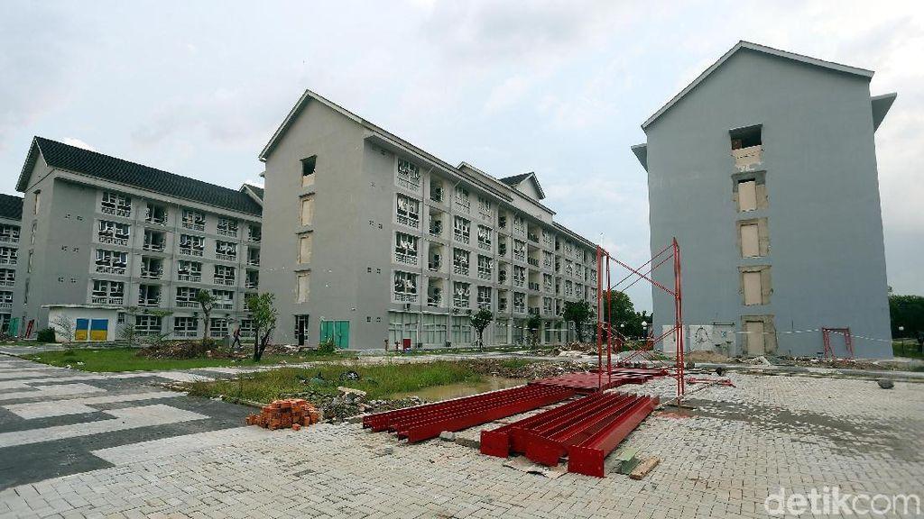 Pembangunan Wisma Atlet Jakabaring Terus Dikebut