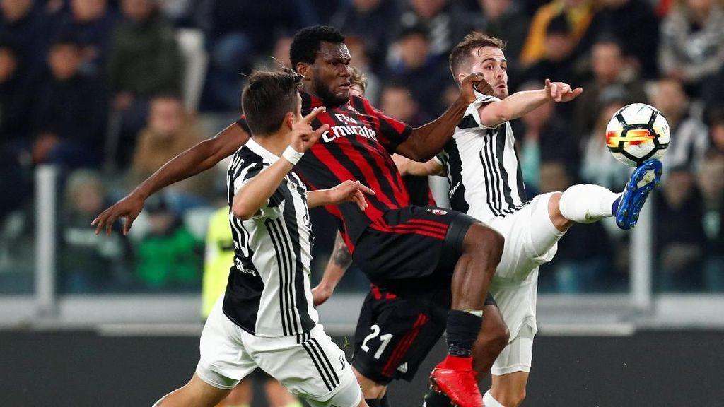 Statistik Juve saat Kandaskan Milan