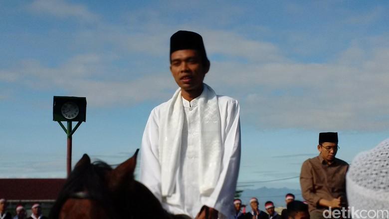 Abdul Somad: Saya Sampai Mati Jadi Ustaz