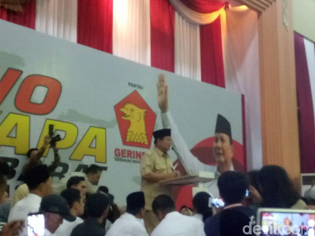 Cerita Prabowo Dituduh Diktator dan Hendak Kudeta