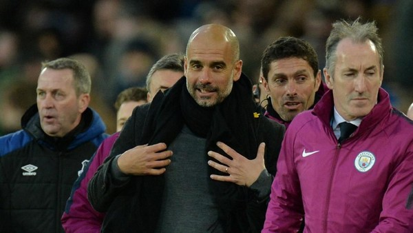 Guardiola Fokus ke Liverpool, Belum Pikirkan Laga Lawan MU