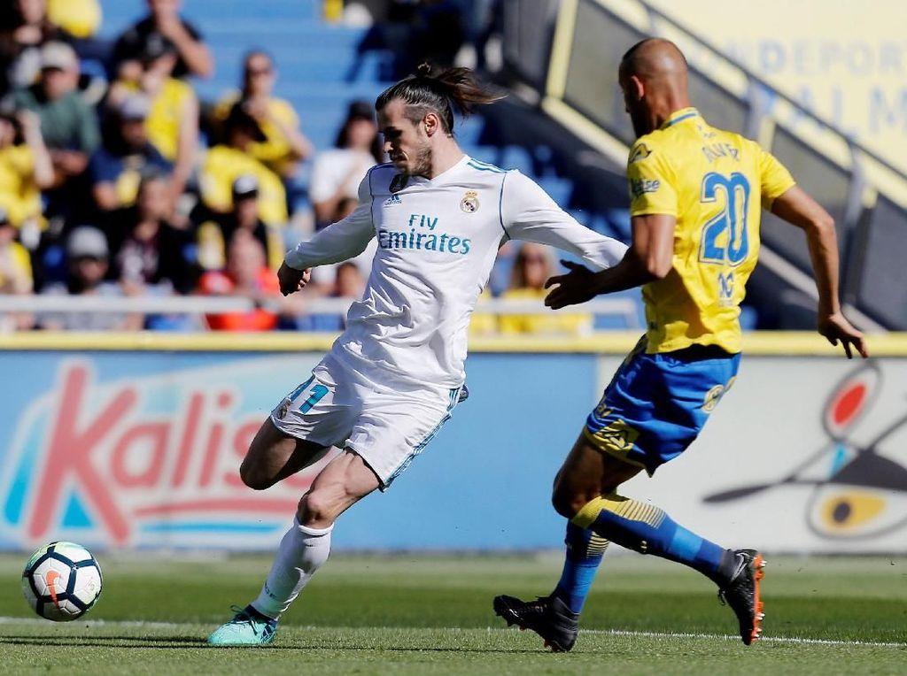 Bale Dua Gol, Madrid Atasi Las Palmas 3-0