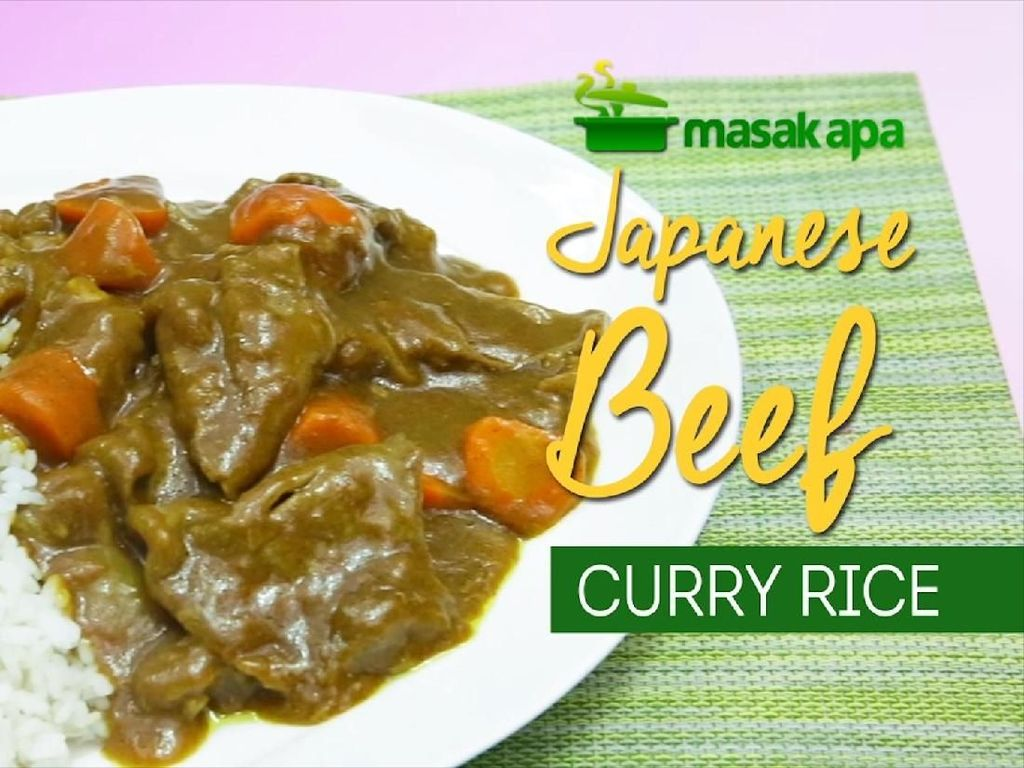 Hangatkan Akhir Pekan dengan Japanese Beef Curry