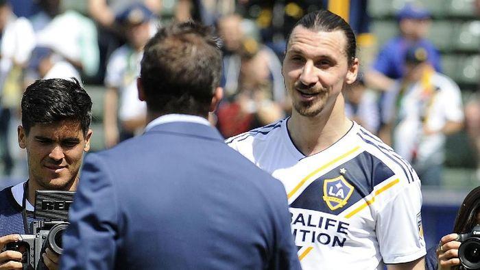 Pemain asal Swedia, Zlatan Ibrahimovic. (Foto: Gary A. Vasquez-USA TODAY Sports)