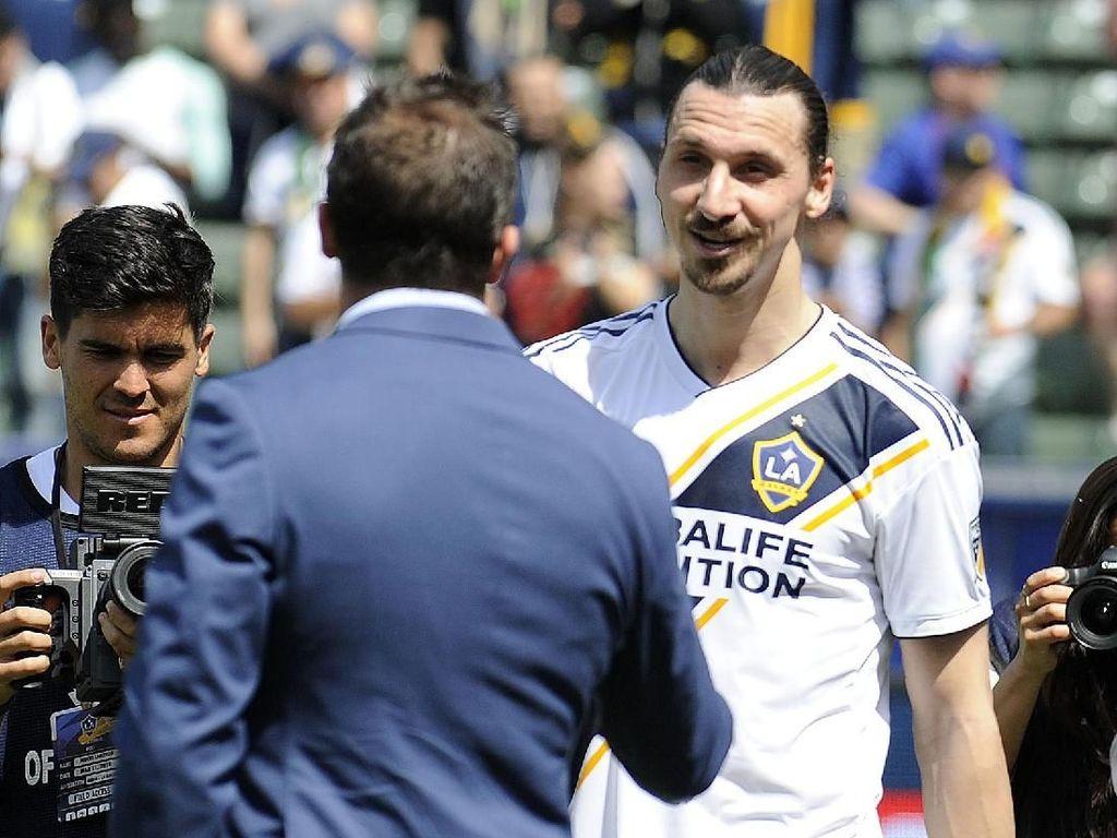 LA Galaxy Ogah Lepas Ibrahimovic ke Milan