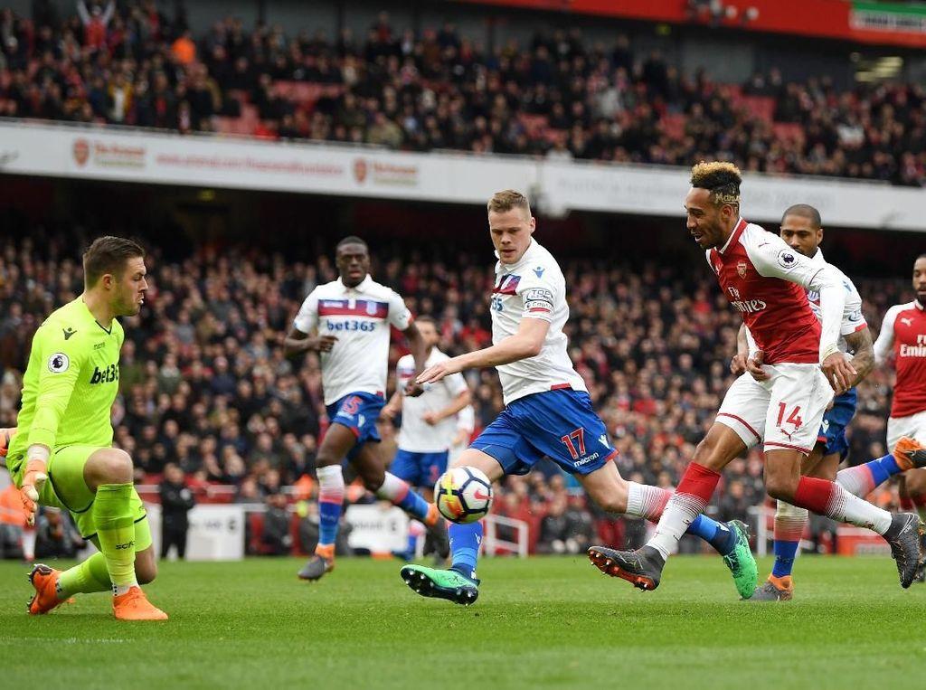 Penegasan Dominasi Arsenal Atas Stoke City