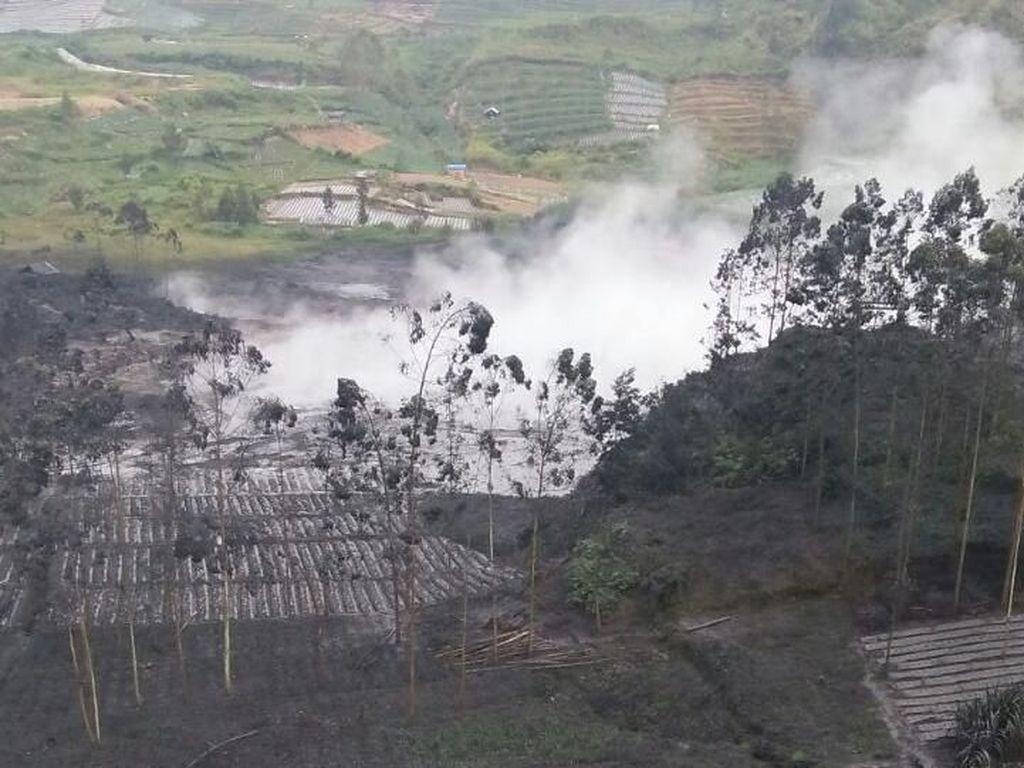 Tidak Ada Gas Beracun Akibat Letusan Kawah Sileri Dieng