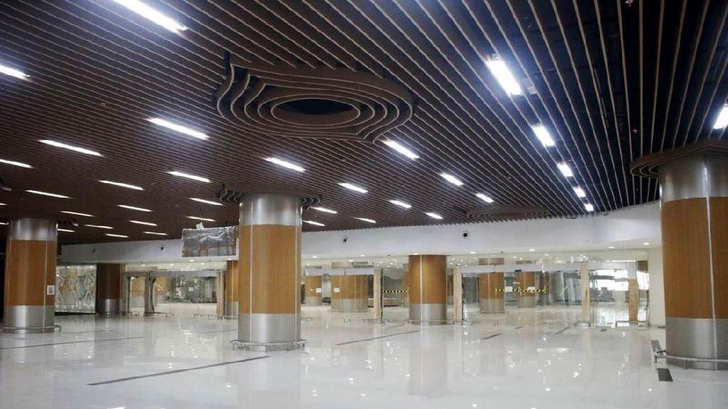 Mengintip Cantiknya Daleman Bandara Kertajati yang Hampir Rampung