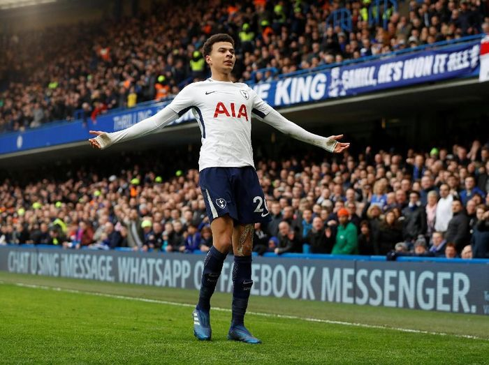 Pemain Tottenham Hotspur, Dele Alli. (Foto: Peter Nicholls/Reuters)