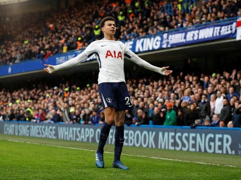 Dele Alli Meledak di Laga Premier League ke-100 Bersama Tottenham