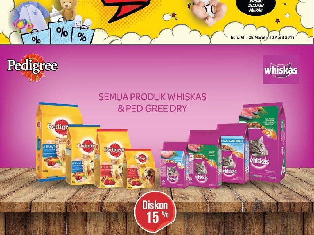 Promo Makanan Hewan Peliharaan di Transmart Carrefour