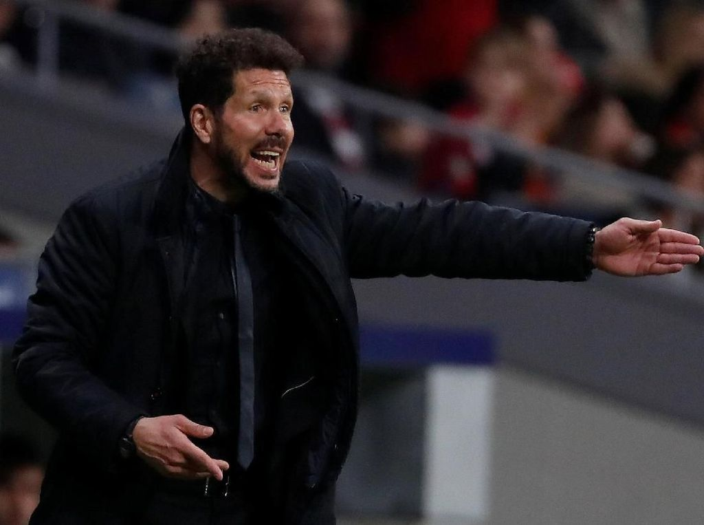 Pelatih Real Madrid Silih Berganti, Lawannya Tetap Simeone