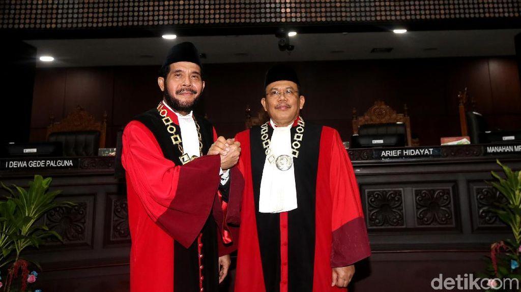 Duet Anwar Usman dan Aswanto Pimpin MK