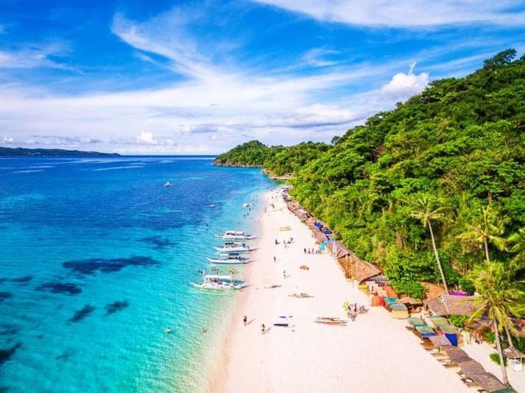 Foto: Pulau Terkenal di Filipina Ini Ditutup