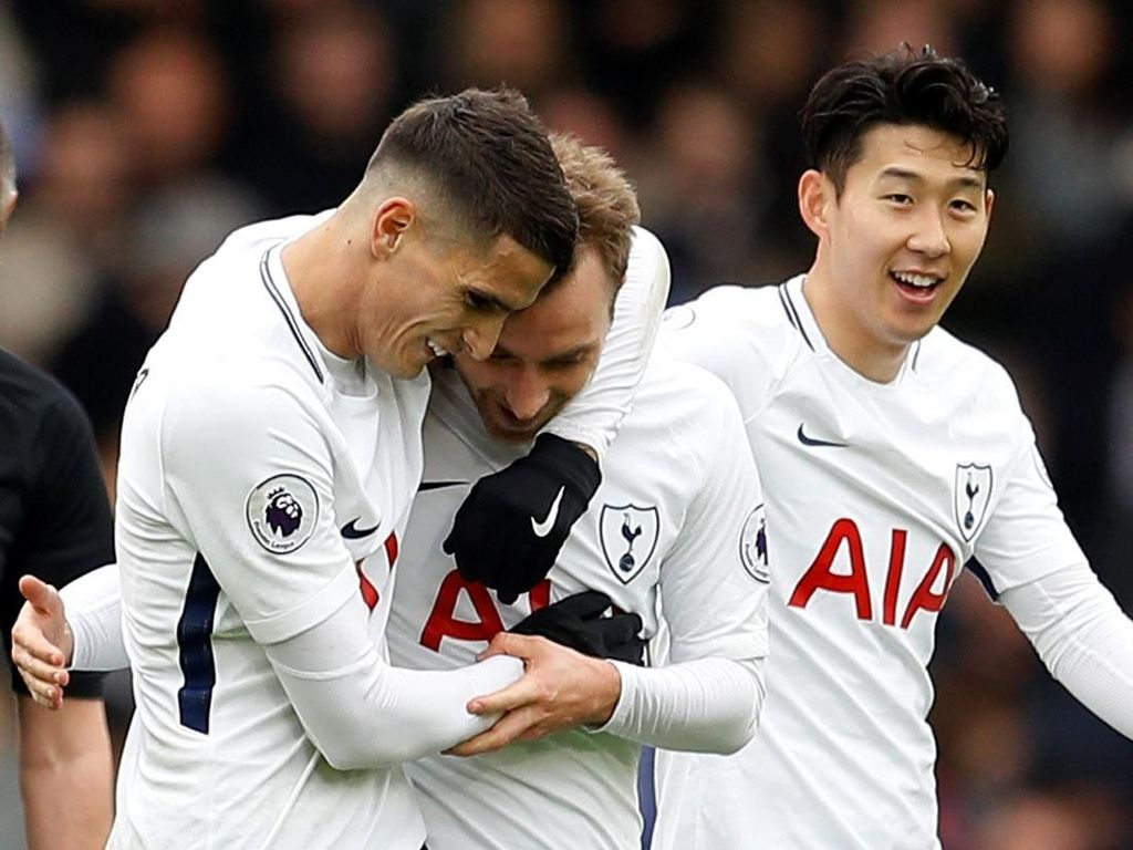 Eriksen Marahi Son Usai Gol Ketiga Spurs ke Gawang Chelsea