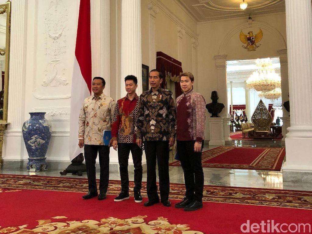 Marcus Undang Presiden Jokowi ke Pesta Pernikahannya