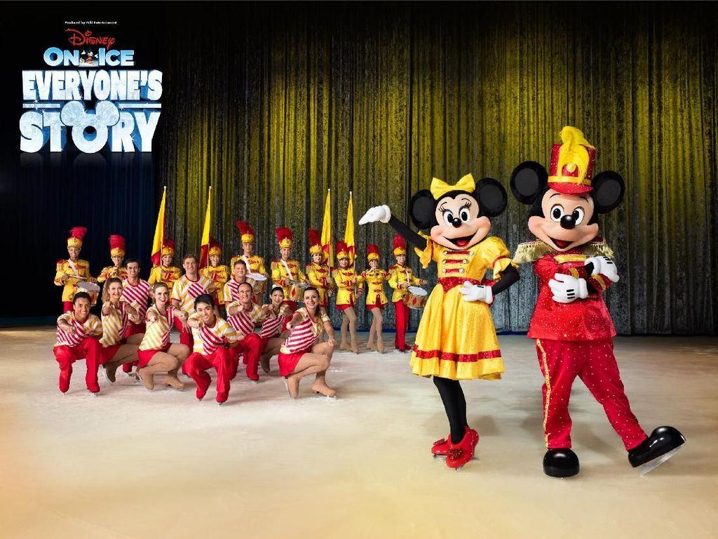 Keren Banget! Parade Disney on Ice di Hari Pertama