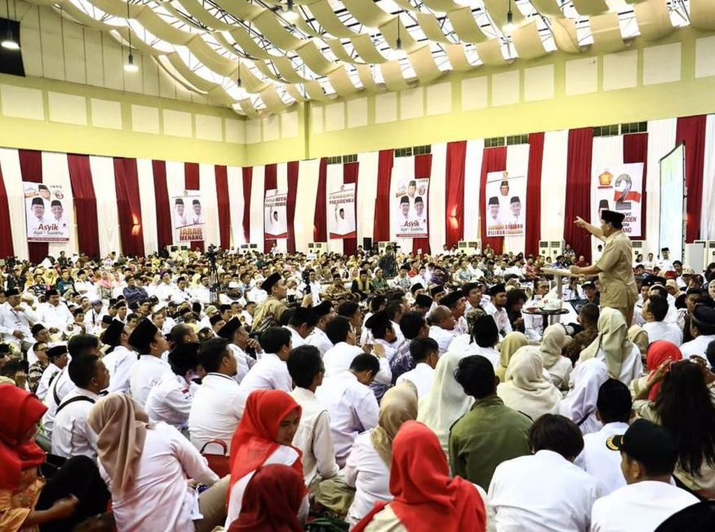 Tim Prabowo Sindir Jokowi soal Sontoloyo-Genderuwo: Nggak Substantif