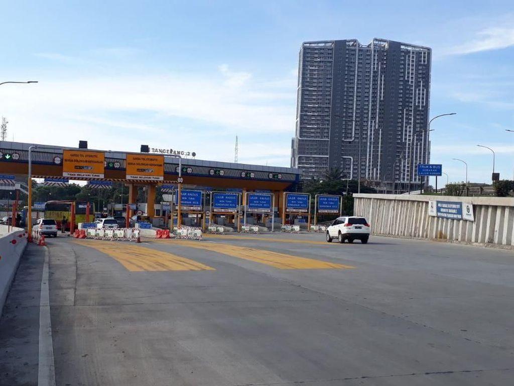 Sistem Ganjil-Genap di Tol Tangerang Mulai Persiapan
