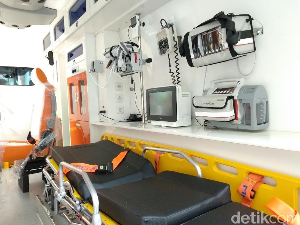 Wow! Ambulans Super VVIP Ini Standby untuk Asian Games 2018