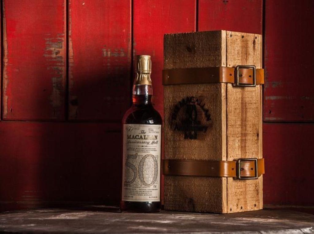 Whisky Vintage Berusia 50 Tahun Ini Diharga Rp 500 Juta Per Botolnya