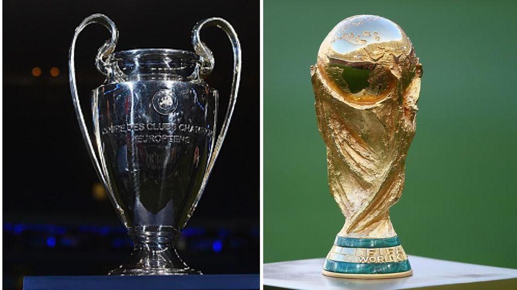 Para Juara Piala/Liga Champions dan Piala Dunia di Tahun yang Sama