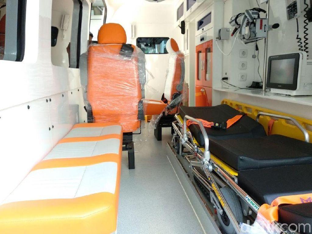 Ini Penampakan Ambulans Super VVIP untuk Asian Games 2018