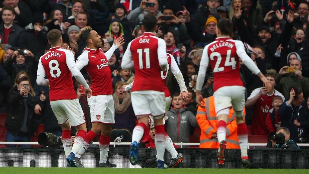 Penegasan Dominasi Arsenal Atas Stoke City