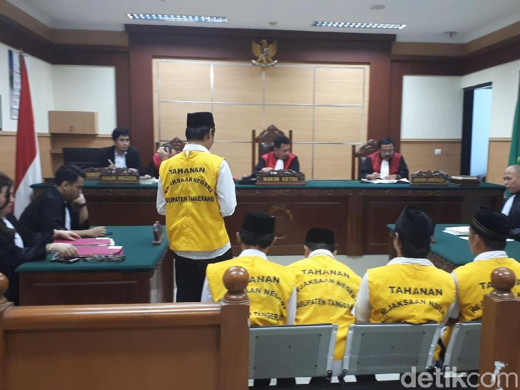 Terdakwa Penelanjangan Sejoli di Tangerang Segera Divonis