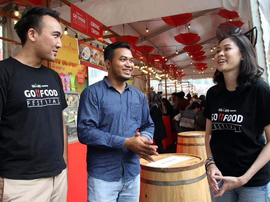 Go-Food Bantu Dorong UMKM Jadi Melek Digital