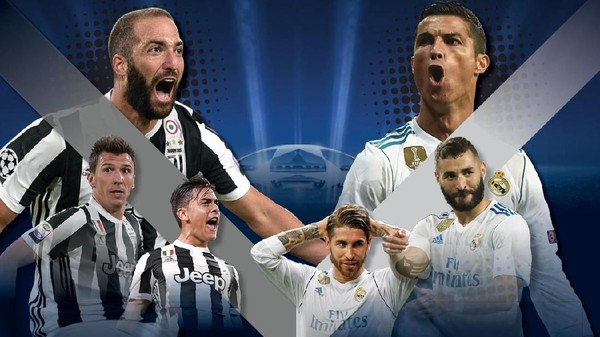 Duel Juventus vs Madrid Panaskan Turin