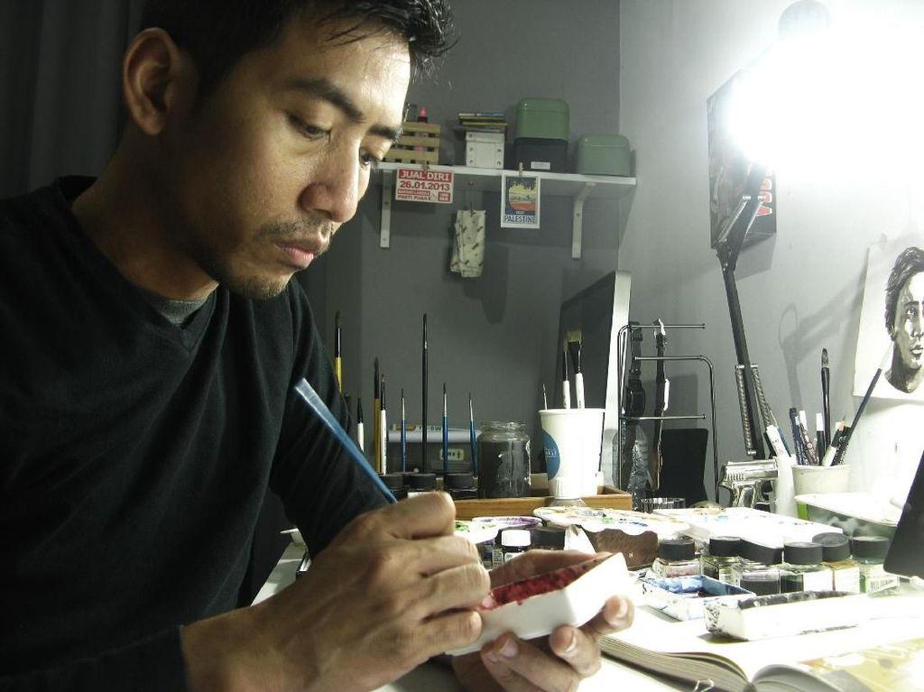 Hong Kong Arts Month Menginspirasi Emte untuk Terus Berkarya