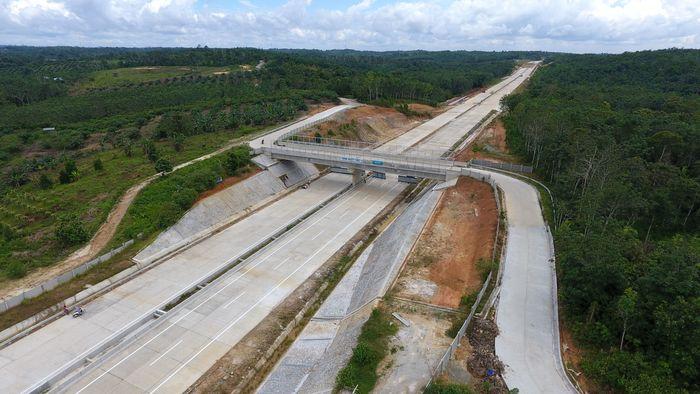 Langkah percepatan dan pembangunan yang masif dibuktikan oleh progres pembangunan konstruksi yang terbilang positif, kata Direktur Utama PT JBS Arie Irianto. (Foto: dok. Wika)